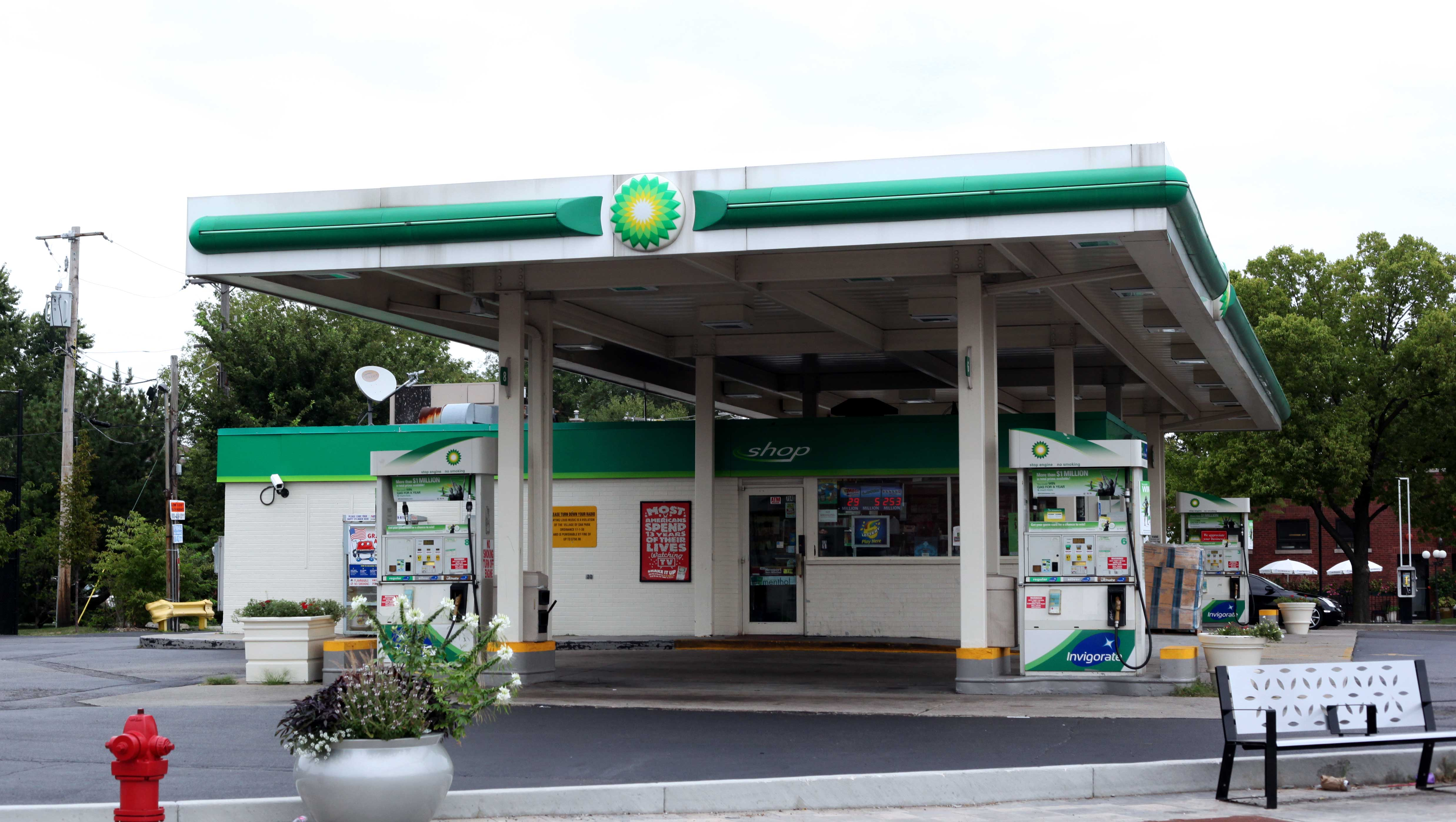 Gas: Bp Gas Station